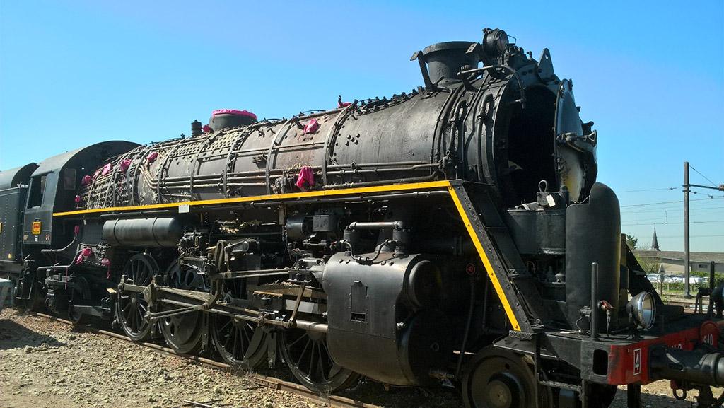 La 141R840 est prête pour commencer les travaux préparatoires (20 avril 2018)