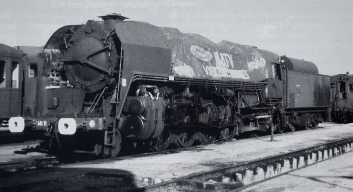 141R840 - Vierzon - 10 juillet 1982 (photo Denis Pasquier)
