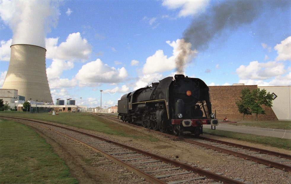 141R840 - Centrale Belleville sur Loire - 30 septembre 2000 - photo Pascal Bouché