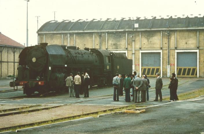 141R840 - Vierzon - transfert SNCF - 20 mai 1978