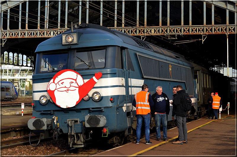 Train du Père Noel - Blois, 14 décembre 2019