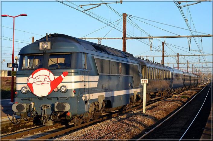 Train du Père Noel - Les Aubrais, 14 décembre 2019