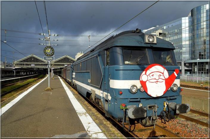 Train du Père Noel - Tours, 14 décembre 2019